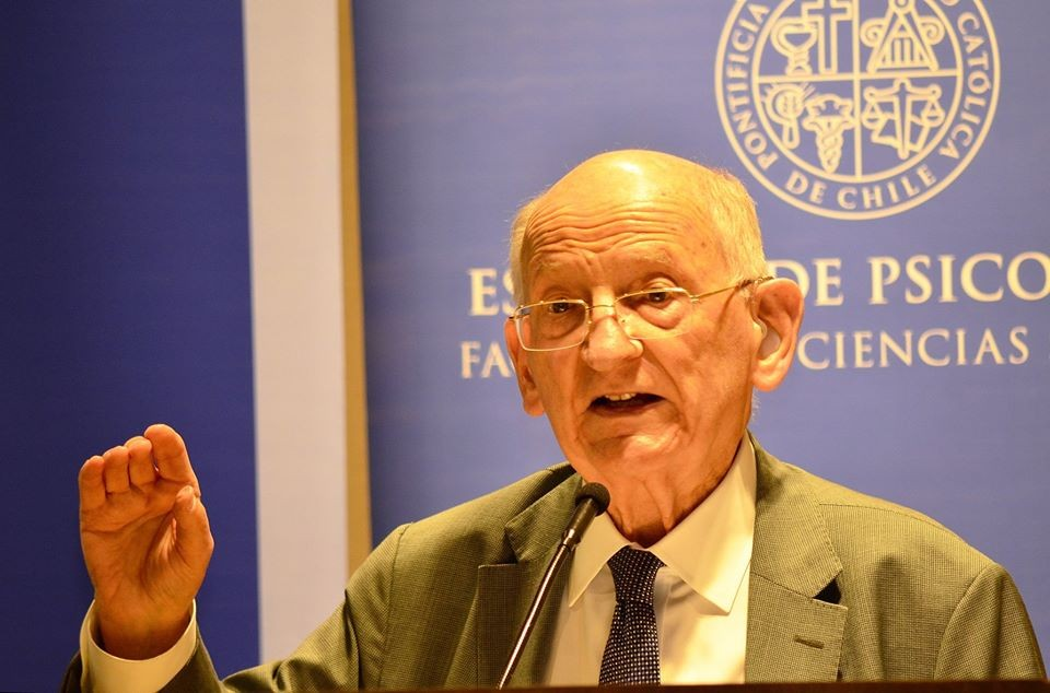 Otto Kernberg in Chile: master class on the diagnosis and treatment of personality disorders