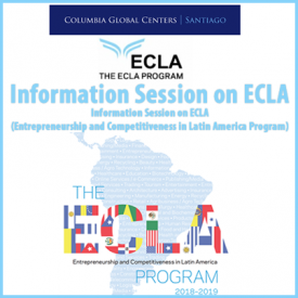 Information Session Entrepreneurship and Competitiveness in Latin America (ECLA)