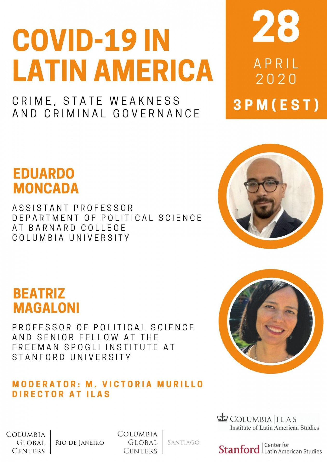 COVID-19 in Latin America: Crime, State Weakness and Governance in America